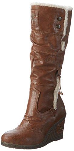 Mustang Damen 1083-601 Langschaft Stiefel, Braun (301 Kastanie), 41 EU