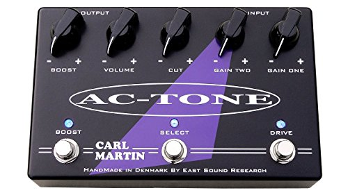 CARL MARTIN AC-TONE OVERDRIVE/DISTORTION/CLEAN BOOST - PRO SERIES