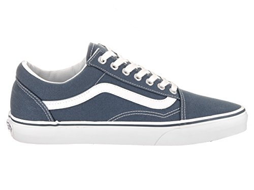 Vans UA Old Skool, Scarpe da Ginnastica Basse Uomo (canvas) Dark Slate/true White