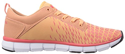 KangaROOS K-Blue Run 8005, Unisex-Erwachsene Sneakers Orange (peach/dkpeach 777)