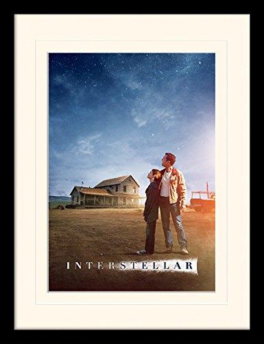 Preisvergleich Produktbild 1art1 101855 Interstellar - Star Gaze Gerahmtes Poster Für Fans Und Sammler 40 x 30 cm