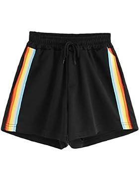 Pantalones Cortos Mujer Verano,Pantalones cortos de deporte de verano de moda de mujer Pantalones cortos de playa...