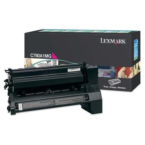 C780A1MG Lexmark Return Program magenta–Cartuccia toner magenta–laser–6000page–1each