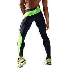 SEVENWELL Colorido Deportes Compresión Leggings Correr Medias Gimnasio Ejercicio Elástico Pantalones Estrechos… mw1p311TV