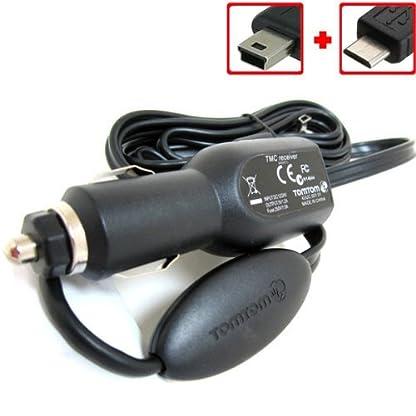 TomTom-USB-Auto-Ladegert-Stromkabel-Verkehrsinfo-Empfnger-fr-VIA-110-120-125-130-135-150-155-160-XL-XXL-Start-2-20-25-60-GO530-540-550-630-730-740-750-940-950-820-825-4ET03-4EJ41-4EJ51-4EN42-4EN52-z12