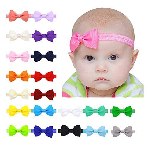 21 colores Diademas Bebe Niña