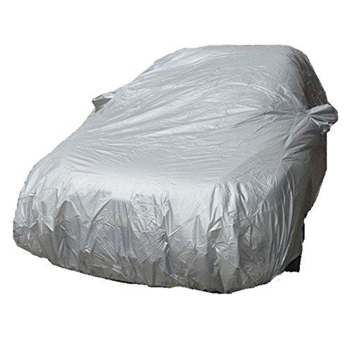 SHENGLI Autoabdeckung Autoabdeckplane Vollgarage Auto Garage Autoplane Wasserdichte Ganzgarage Sun UV Schnee Staub Regen Beständig Schutz,L