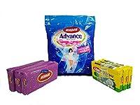 Nirma Combo Pack - Nirma Detergent,Nirma Detergent Cake,Nirma Bartan