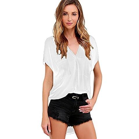 MEINICE - T-Shirt - Femme - blanc - XL