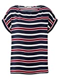Alba Moda Damen Bluse in schönem Streifenverlauf Fließend 40