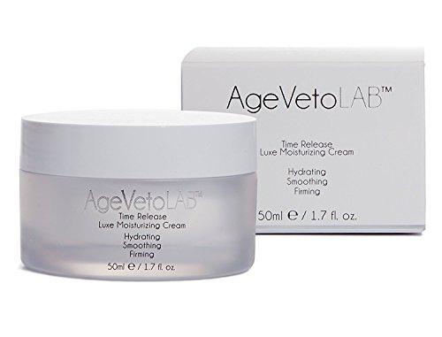 Anti-Aging-Gesicht Tagescreme Zeit Release Feuchtigkeitscreme Hyaluronsäure, Retinol, eingekapselte Peptide Vitamine, Dip Hydration von AgeVeto 50 Ml (1,7 Unzen) -