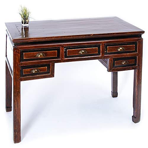 Antiker Chinesischer Schreibtisch Sekretär Tisch Labtoptisch Schminktisch -