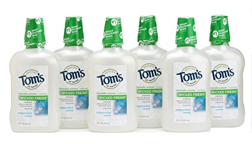 toms-of-maine-long-lasting-wicked-fresh-peppermint-wave-mouth-wash-16-ounce-bottles-pack-of-6-by-tom