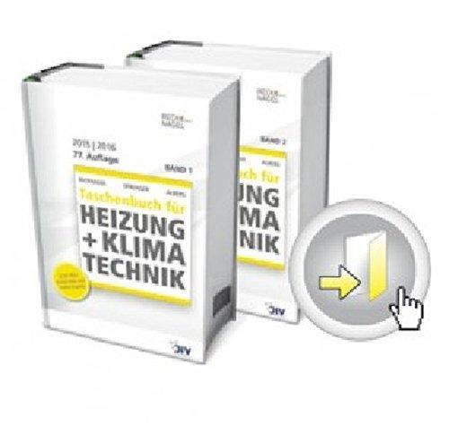 Recknagel - Taschenbuch für Heizung + Klimatechnik 77. Ausgabe 2015/16: Basisversion Print