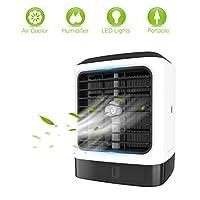 Nome prodotto: Umidificatore per mini-raffreddatori ad aria  Imballaggio incluso: Umidificatore per refrigeratori d'aria * 1, Manuale d'istruzioni * Cavo USB da 1,1,5 m * 1  L'aggiunta di cubetti di ghiaccio ti farà sentire più rinfrescante  ...