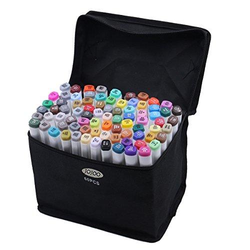 nuova-versione-jojoo-60-colori-art-sketch-marker-penne-multi-colori-double-end-sketch-grafica-pennar