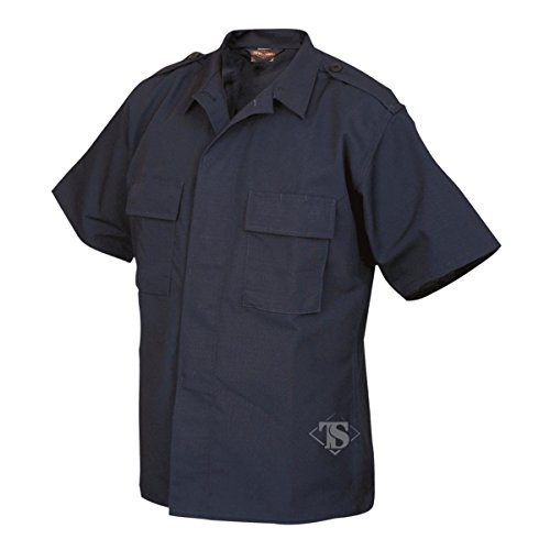 tru-spec Short Sleeve Tactical Hemd Blau - navy