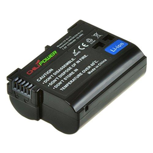 Orginal Chili Power EN-EL15Batteria per Nikon 1V1DSLR, D600, D610, D800, D800E, D7000, D7100, D7200