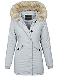 Golden Brands Selection Designer Damen warme Winterjacke Winter Parka Jacke  wasserabweisend B514 0da57f3a08