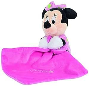 Disney Doudou Minnie Gid A Rose 15 cm