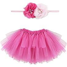 Musuntas bebé Prop fotografía, disfraz de bebé, Photo fotografía ropa disfraz bebé falda tutú Pettiskirt Niñas flor diadema
