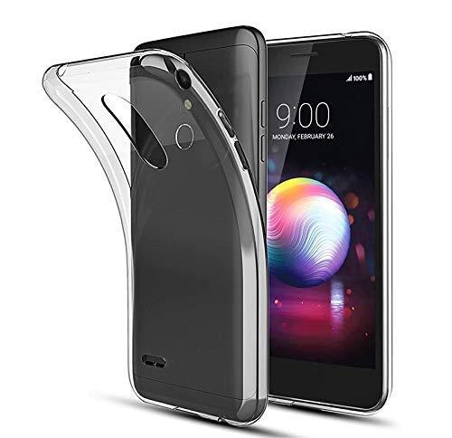 CoverKingz Schutzhülle Handy Hülle für LG K11/K10 (2018) Handyhülle durchsichtig, Silikon Case Transparent