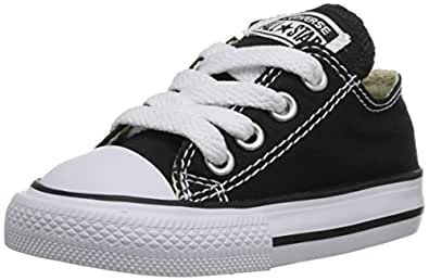 Converse Chuck Taylor All Star, Unisex-Kinder Sneakers, Schwarz (Black), 29 EU