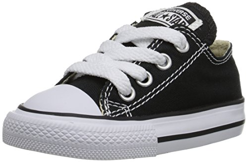 Converse Ctas Season Ox, Baskets mode Mixte Enfant Noir (OX - Black) 31 EU