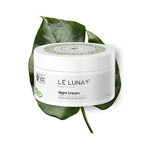Lé Luna Organics Crema Noche   Restaura Revitaliza