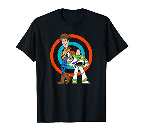 Disney Pixar Toy Story Buzz Lightyear and Woody T-Shirt Toy Story T-shirts