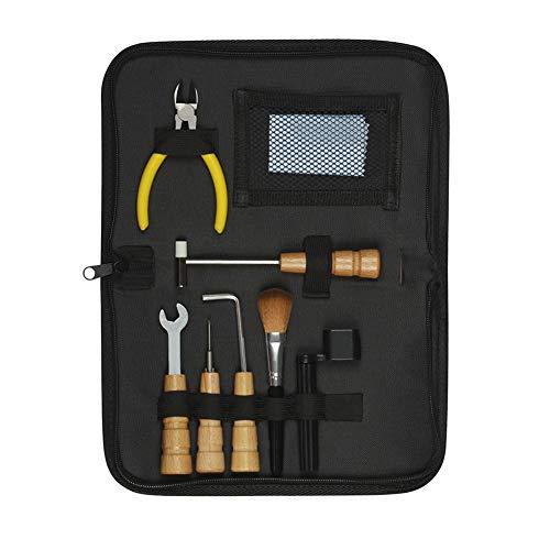 S-tubit Kit di Strumenti per la Riparazione della Chitarra - Installazione degli Accessori Luthier Riparazione di Manutenzione 8 Pezzi Accessori per Chitarra Well-Matched