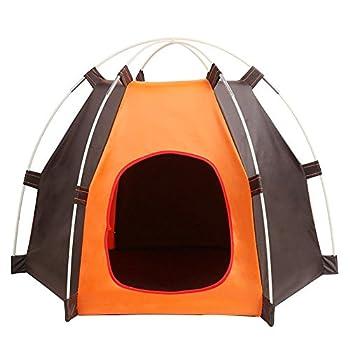 Pet House, maison pour chien pliable, portable, tente imperméable pour petit chien et chats, intérieur et extérieur Abri petits animaux
