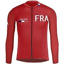 Uglyfrog-National Flag WLJ37 2018 Cycling Wear De Manga Larga Maillot Ciclismo Hombre Equipos Clothes with Fleece
