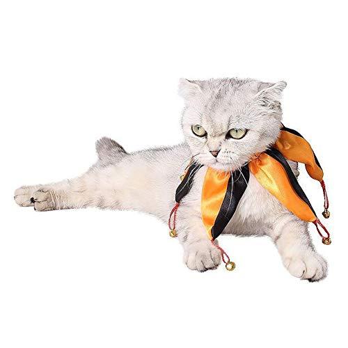 BaconiXfF Hundehalsband, verstellbar, für Halloween, Clown