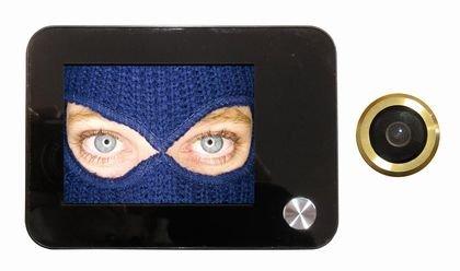 Türspion digital elektronisch Blick mit Aufnahme von Video und Foto–Kamera 120° mit Zoom
