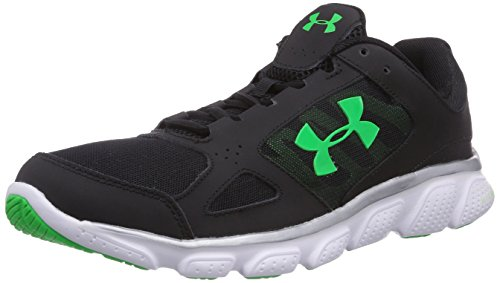 Under Armour UA Micro G Assert V, Running Entrainement Homme Noir (Black/White/Grey 003)