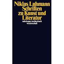 Schriften zu Kunst und Literatur (suhrkamp taschenbuch wissenschaft)