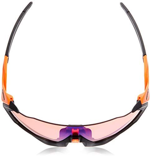 OAKLEY Flight Jacket OO9401 Gafas de sol para Unisex, Naranja/Negro