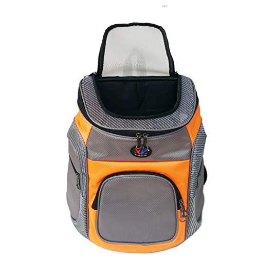 WJQSD Haustierrucksack, Katzen- Und Hunderucksack Teddybär Xiongying Short Beauty Carrying Case Walking, Outgoing Travel (Color : Yellow) -