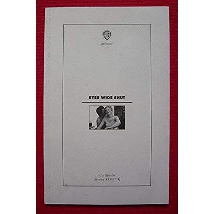 Dossier de presse de Eyes Wide Shut (1999) – 13x21cm, 48 p - Film de Stanley Kubrick avec Tom Cruise, Nicole Kidman – Photos N&B du film et tournage – Très bon état.
