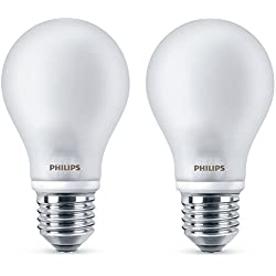 Philips - Pack de 2 Bombillas LED 2G11, 60 W, Cálida