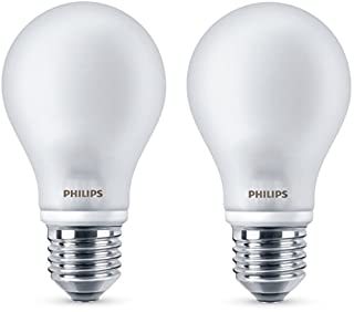 Philips ampoule LED E27 7W Equivalent 60W Verre Blanc chaud Lot de 2 (B00VQ63HLQ) | Amazon Products