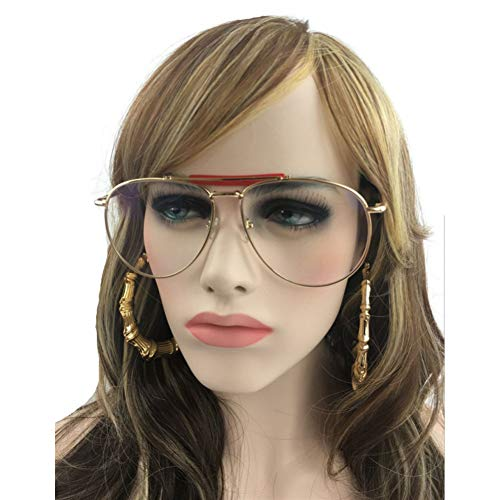 GBST Metal Frame Glasses Clear Lens Vintage Eyeglasses,A1