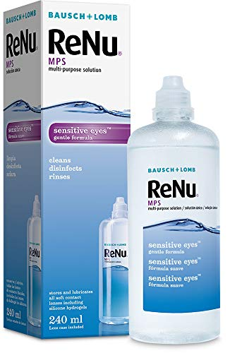 Bausch and Lomb ReNu MPS Multi-Purpose Contact Lens Solution - 240 ml