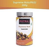 Nutraj Supreme Nuts 200g Silver Jar