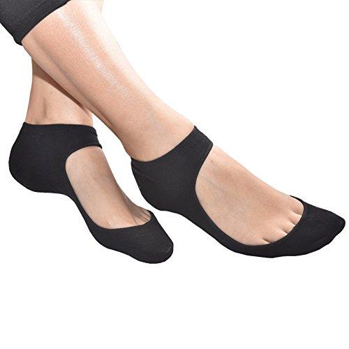Medipaq® Ballet Pump / Flats Shoe Liners - Gel Heel For Sockettes...