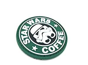 Patch STAR WARS N COFFEE PVC Velcro Airsoft Stormtrooper