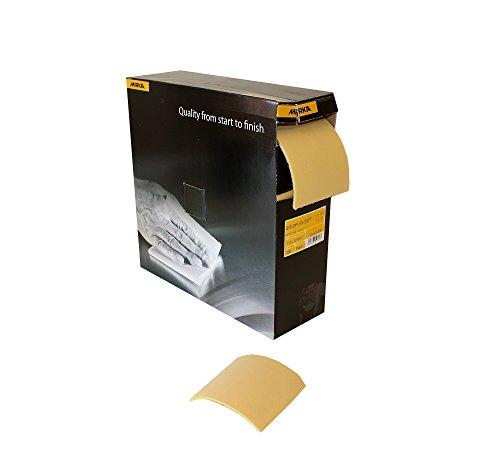 Mirka 2912707041 Goldflex-Soft Perf. Rolle P400, 115 x 125 mm, 200 Pro Roll (Flex Bindemittel)