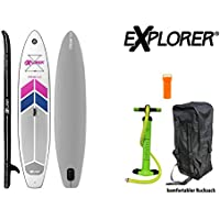Explorer 3 Sup Inflatable Stand Up Paddle Surf Board ISUP hinchable Board ...
