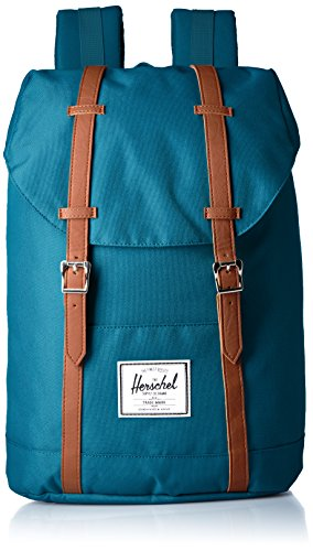 Herschel Retreat Indian Teal/Tan Synthetic Leather